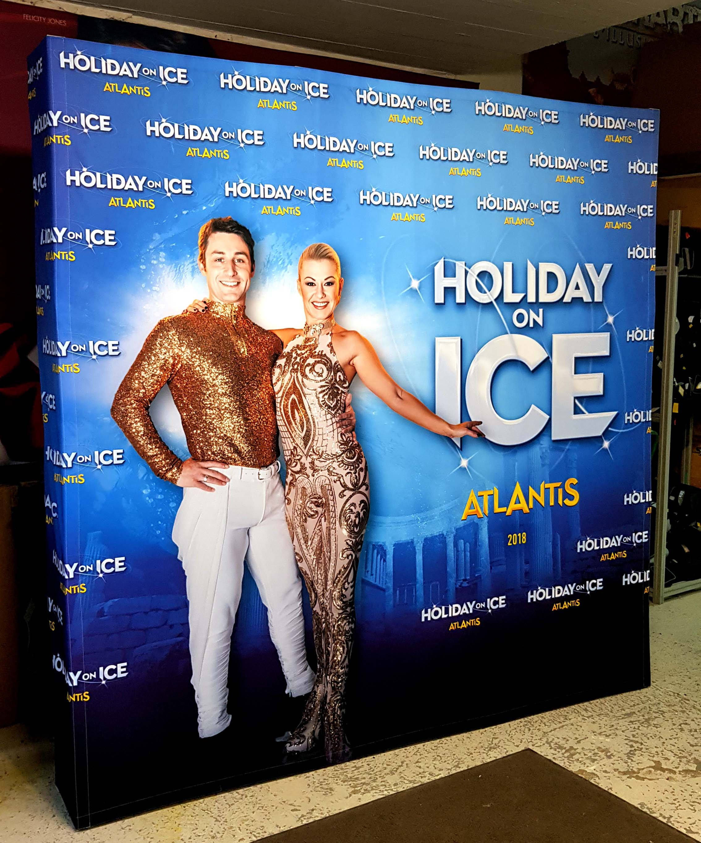 photocall holiday on ice 3x3