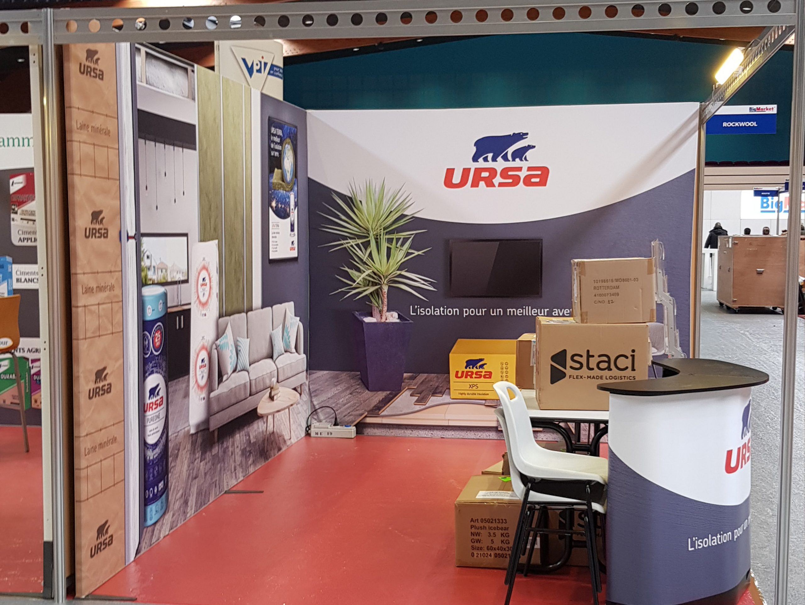 stand modulable 12m²