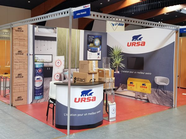 stand modulaire 12m²