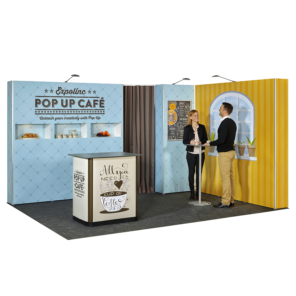 stand 12m² pliable