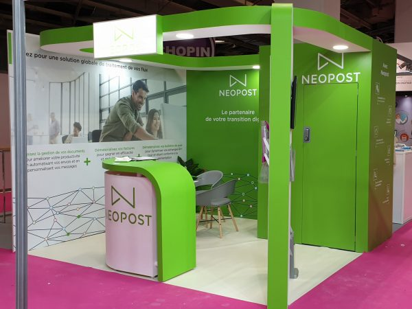 stand traditionnel 12m²