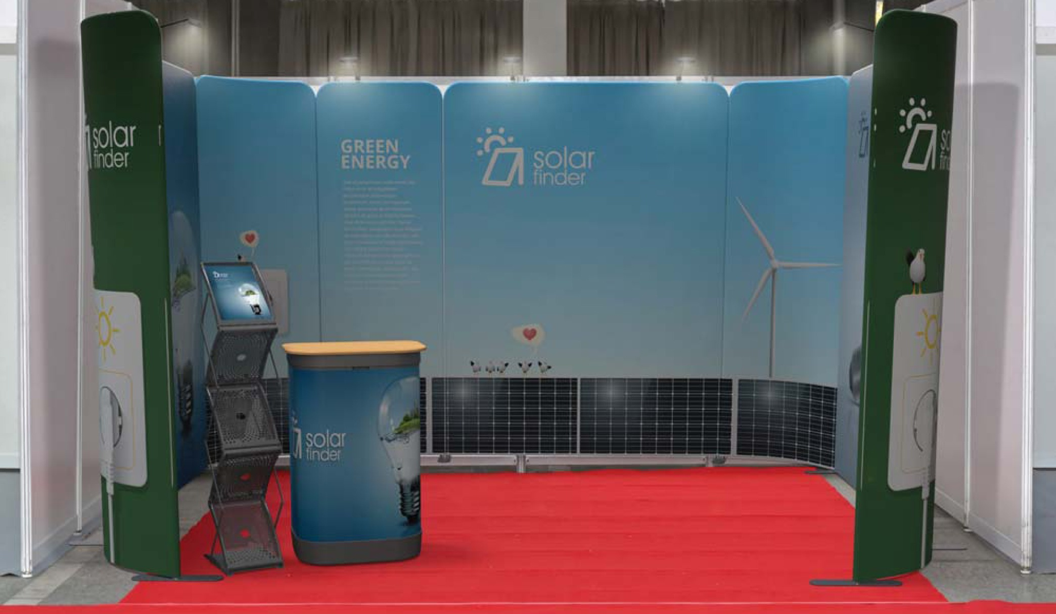 stand modul expo