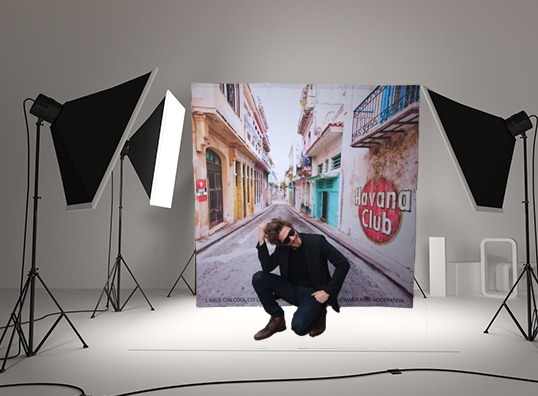 photocall pliable photo